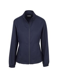 Greg Norman Women's Heather Zip Jacket Basic Long Sleeve Full Zip Golf Jacket-Available in Black or Navy