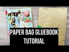 (1) TUTORIAL | Paper Bag Gluebook/Journal | #gluebooktutorial #gluebook #paperbagjournal #paperbagcraft - YouTube Paper Bag Crafts, Glue Crafts, Paper Bags, Glue Book, Book Binding, Art Tutorials, Journal, Grocery Bags, Relax