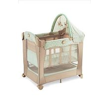 graco bedroom bassinet. graco travel lite crib with stages - cabo not this colour, but laurie used as bedroom bassinet