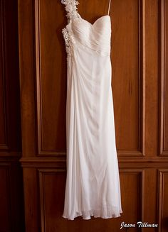 My beach wedding dress