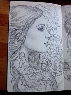 Скетчбук иллюстратора Sabine Rich                                По-моему, волшебно *_*