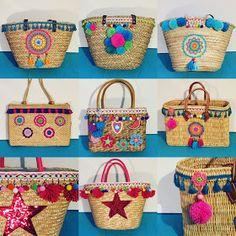 My private Ibizataschen-DIY-Workshop . (Elealinda-Design), - My private Ibizataschen-DIY-Workshop . (Elealinda-Design), bags tote handbags My private Ibizataschen-DIY-Worksh Source by Ibiza, Woven Beach Bags, Egg Carton Crafts, Diy Workshop, Boho Bags, Summer Bags, Knitted Bags, Crochet Bags, Handmade Bags