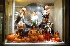 A Ralph Lauren Halloween window display, 2009. Mannequin Madness can provide all of your distressed mannequin and mannequin parts needs. Visit www.mannequinmadness.com