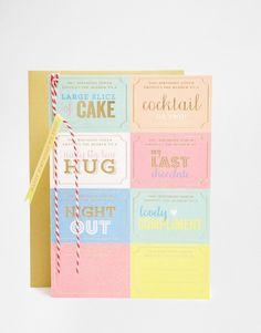 Bild 1 von Meri Meri – Grußkarte mit Geschenkgutscheinen