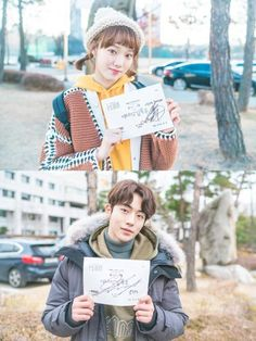 Nam Joo Hyuk and Lee Sung Kyung shared thoughts on wrapping up MBC drama 'Weightlifting Fairy Kim Bok Joo'. Drama Korea, Korean Drama, Weightlifting Fairy Kim Bok Joo Wallpapers, Weightlifting Kim Bok Joo, Nam Joo Hyuk Wallpaper, Weighlifting Fairy Kim Bok Joo, Mascarilla Diy, Joon Hyung, Kim Book