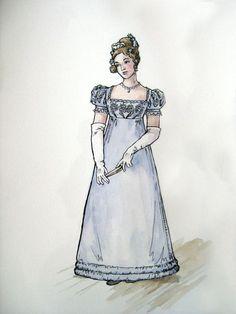 1820 Ball Dress- design by *lachwen