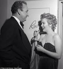 Image result for marilyn monroe with male star 1952