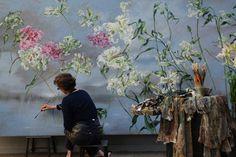← Richard BurelAntony Gormley's grootste sculptuur tot nog toe →         De Schilder Claire Basler    september 14th, 2010 · Geen reacties · Kunst, Uncategorized       Mooie plaatjes voor een grijze dag…     Is dit geen fantastisch atelier?         Claire Basler working.