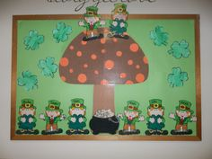 March Bulletin Board or I  could do gnomes for may...