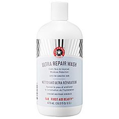 "most recent purchase - first aid beauty ultra repair wash. i mean, 379 people ""LOVED"" this product... and i am a sheep."