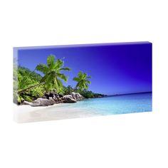 Bilder Strand Meer Kunst Keilrahmenbild Leinwand Deko XXL 80cm*40cm V0310224