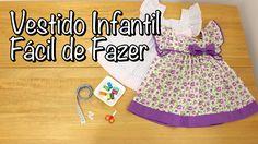 Vestido Infantil Fácil de Fazer