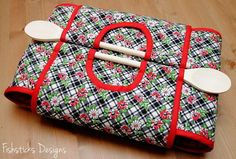 Casserole carrier................. Indygo Junction Casserole Carry-All by Fishsticks Designs