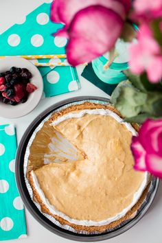 Pumpkin Pudding Cream Pie is a delicious recipe perfect for Thanksgiving and Christmas holiday dessert!