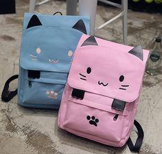 Cute kawaii cat's paw backpack YV16097