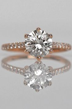 Great 30+ Fabulous Rose Gold Engagement Rings https://weddmagz.com/30-fabulous-rose-gold-engagement-rings/