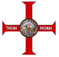 """Non nobis"" is a short Latin hymn used as a prayer of thanksgiving and expression of humility. The Latin text derives from Psalm 113:9 (according to the Vulgate numbering), which corresponds to Psalm 115:1 in the King James Version. It reads, Latin:  Non nobis, non nobis, Domine Sed nomini tuo da gloriam. 