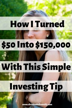 Investing money doesn't have to be difficult, or take a lot of cash. Take this investing tip from me and use these investment ideas to make the most of your money. Improve your finances and make…More Investing In Stocks, Investing Money, Money Tips, Money Saving Tips, Getting Into Real Estate, Dividend Investing, Make Money Now, Money Fast, Big Money