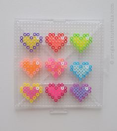 Hearts-Pixel-Bead-Art-1