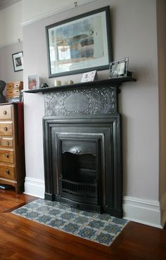 Image result for victorian fireplace tiled hearth