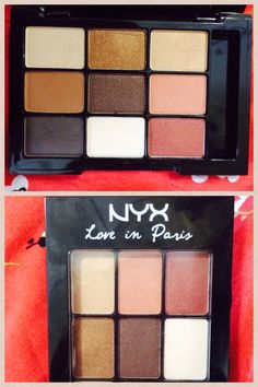 Nyx eye shadow palette 'Love in Paris (Merci Beaucoup)' - Target