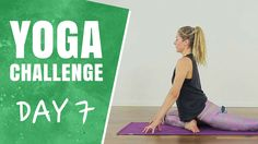Ease Low Back Pain - Day 7 - The 30 Days of Yoga Challenge