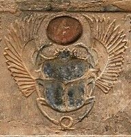 winged scarab beetle constellation cancer