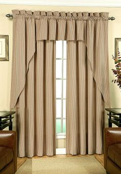Fleetwood is a Colburn Clone, Swags Galore, specializes in finding low cost alternative window treatments.  #Rod #Pocket #Curtains