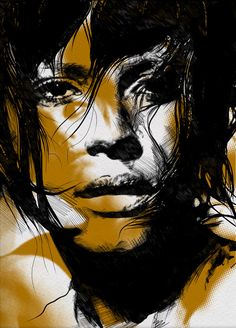 Illustrations by Gabriel Moreno - not a fan of all of his work but I love this.......