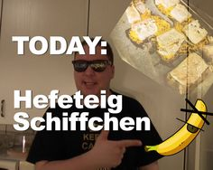 Today: Luscious Hefeteigschiffchen with deligthful cottage cheese. Fill the perfectly shaped pastry boats with the excellence filling. Sunshine, King, Videos, Music, Kitchen, Musica, Musik, Cooking, Kitchens