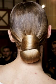 Hair style inspired by the runway... Givenchy - Paris Fashion Week - Spring 2017