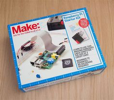 The Raspberry Pi Starter Kit includes virtually everything you need to get your Pi up and running, including a power supply, USB cable, and SD card. We've even included an HDMI cable so you can connect it to a display, right out of the box.
