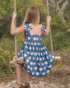 My newest pattern with Saylor- just released today and it has me feeling all the feels! ❤️ I am smitten over those adorable side bows. Summer Dress Patterns, Girl Dress Patterns, Toddler Dress, Baby Dress, Dress Girl, Bow Back Top, Sewing Patterns For Kids, Little Girl Dresses, Girls Summer Dresses