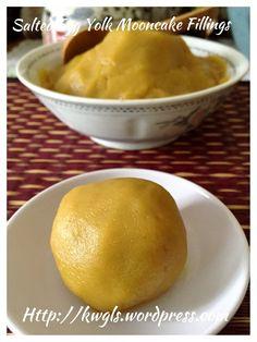 Salted Egg Yolk Custard Moon Cake Fillings (咸蛋奶皇月饼馅料)#guaishushu #kenneth_goh     #salted_egg_yolk_custard  #咸蛋奶皇咸