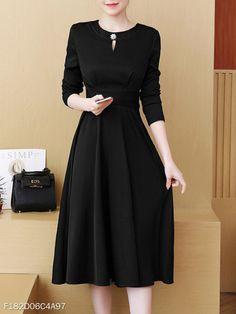 Modest Dresses for Women Modest Dresses, Trendy Dresses, Simple Dresses, Cute Dresses, Beautiful Dresses, Casual Dresses, Modest Clothing, Skater Dresses, Church Dresses