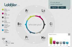 Labbler.com music biz community, connecting Artists, Labels, Booking Agencies, Venues, Media and Fans