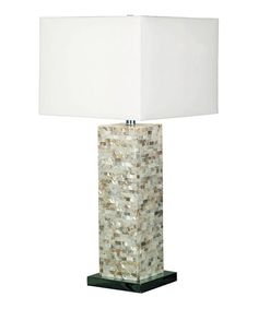 Loving this Louisa Mosaic Table Lamp on #zulily! #zulilyfinds