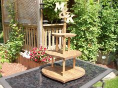 Rustic Wooden Wedding Cupcake Stand / Wedding by apromisemadetoday, $75.99