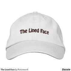 61b5561aa8e The Lined Face Embroidered Baseball Cap