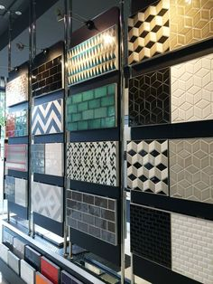 Have fun with colour and pattern in your next renovation - Perini Tiles Showroom, Richmond.: