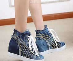 Shoespie Denim Sneaker, Looking comfortable and fashionable, want to try this? visit: spenditonthis.com
