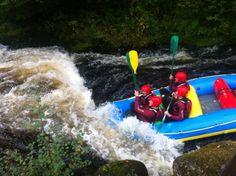 Bala, white water rafting