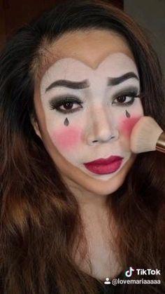 Eye Candy Makeup, Mime Makeup, Mime Halloween Costume, Amazing Halloween Makeup, Eye Makeup Steps, Makeup Challenges, Makeup For Beginners, Beauty Tutorials, Makeup Transformation