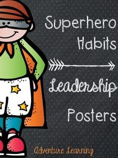 All children can relate to superhero's, use these motivational posters to inspire & remind children to never give up. Create an atmosphere where they know failure can be a good thing! Superhero School Theme, School Themes, Superhero Ideas, Library Themes, Classroom Decor Themes, Classroom Setup, Elementary School Counseling, Elementary Schools, Beginning Of The School Year