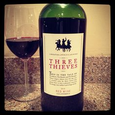 Three Thieves Red Wine Blend is a big ole bottle of red wine. BIG - 1.5 liter. Perfect party wine. Simple, delicious and like $10