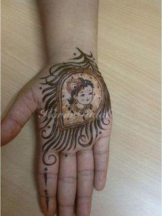 30 innovative Mehndi designs for Krishna Janmasthami Baby Mehndi Design, Arabic Bridal Mehndi Designs, Peacock Mehndi Designs, Engagement Mehndi Designs, Mehndi Designs Book, Mehndi Designs 2018, Modern Mehndi Designs, Mehndi Design Pictures, Dulhan Mehndi Designs