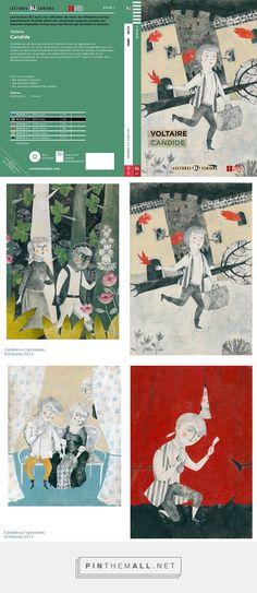 «Candide ou l'optimisme Voltaire» (Eli Publishing, 2012)   Illustrations by Alessandra Vitelli