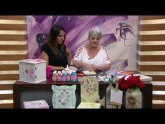 Mulher.com - 05/09/2016 - Pintura decorativa - Ana Gomes PT1 - YouTube