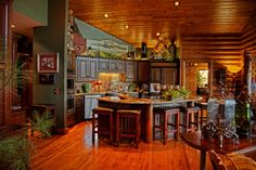Cedar Lodge Kitchen