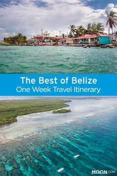 This one-week best of Belize itinerary gives just enough time to see a few of Belize's major destinations and get a taste for just how much there is to do in this Central America destination. It includes plenty of activities, as well as guided tours. #belize #centralamerica #caribbean